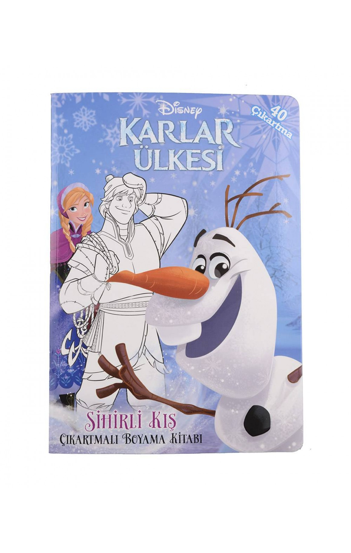 Disney Karlar Ulkesi Sihirli Kis Cikartmali Boyama Kitabi