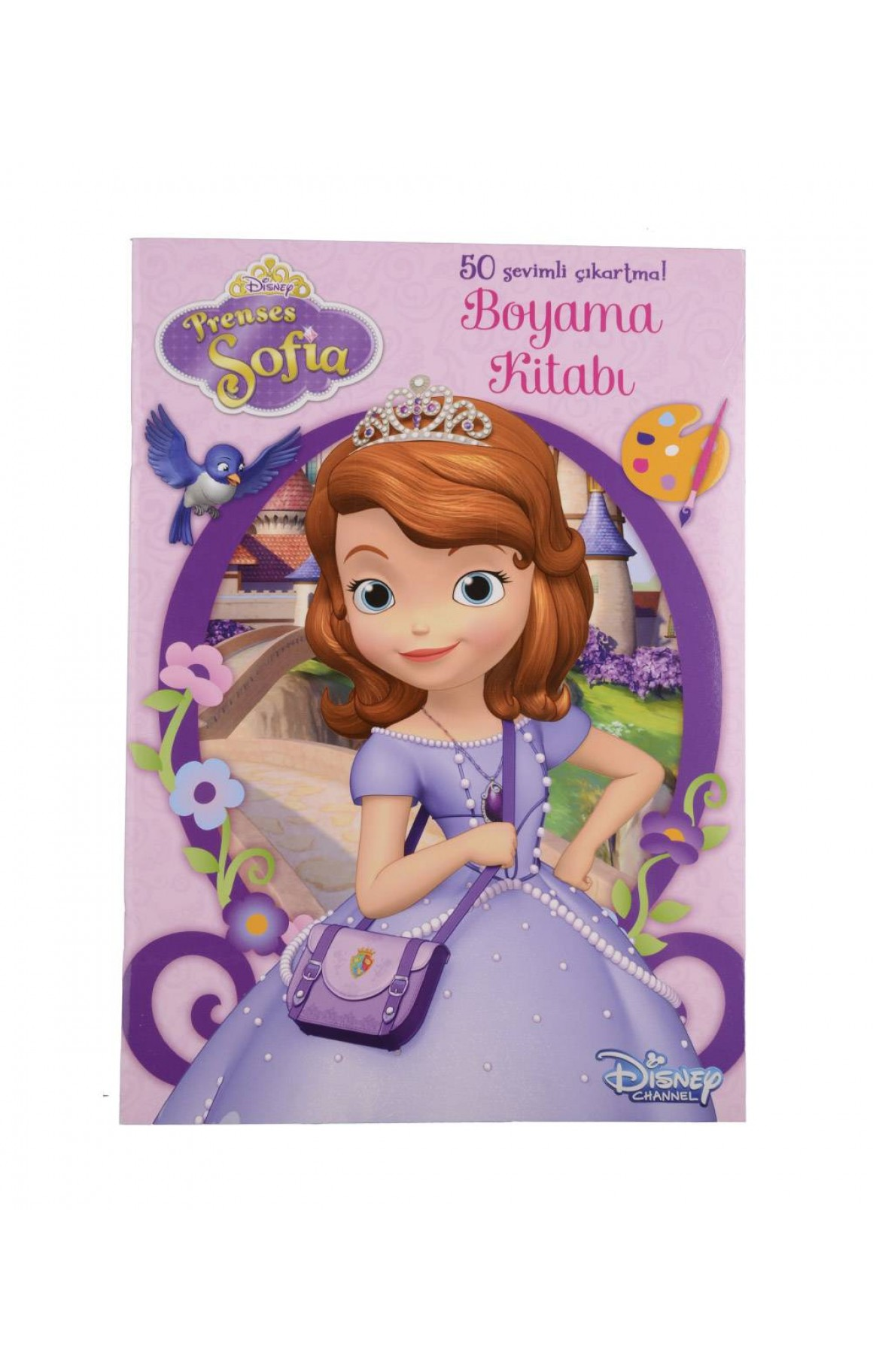 Disney Prenses Sofia Cikartmali Boyama Kitabi