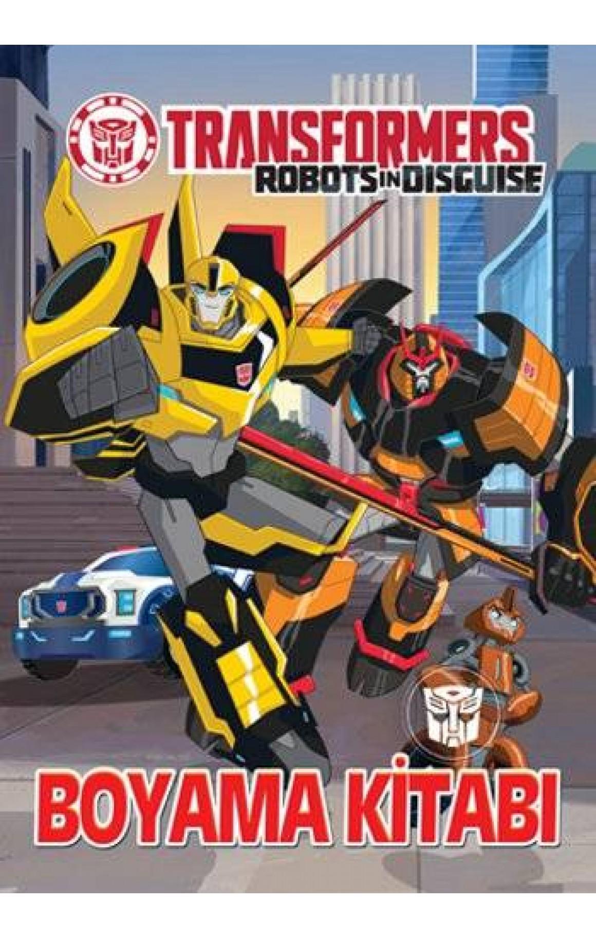 Transformers Boyama Kitabi