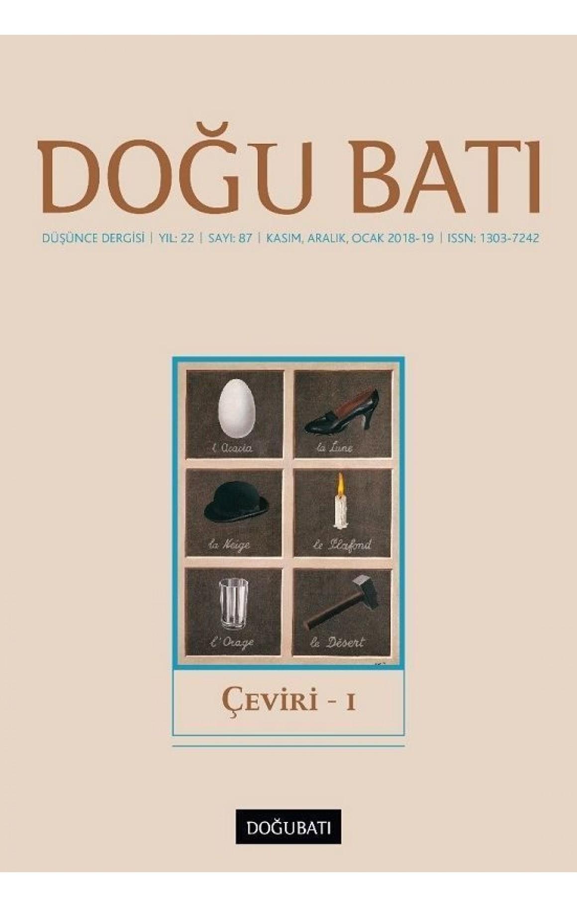 Doğu Batı Sayı 87-Çeviri 1