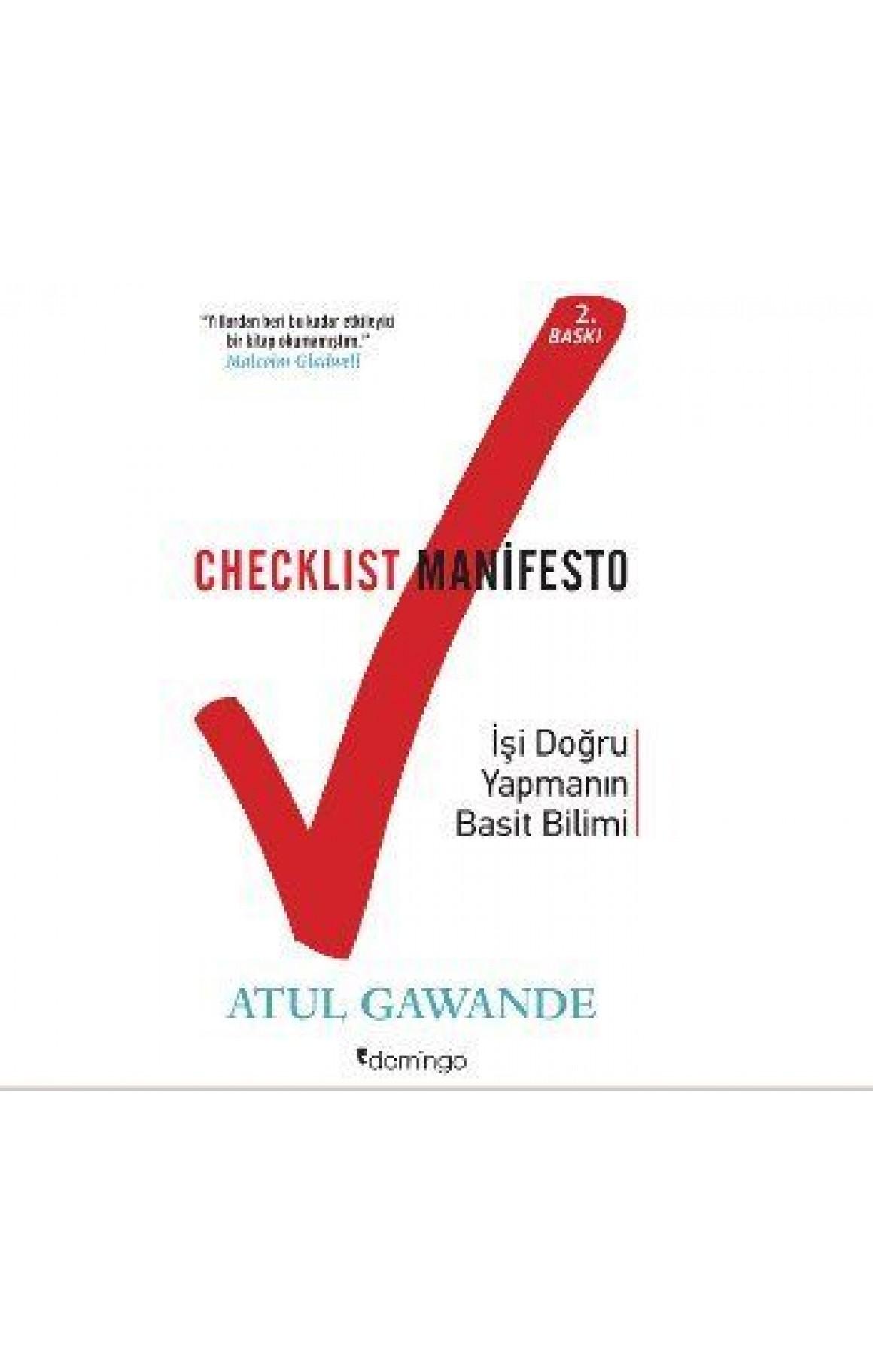 Checklist Manifesto-İşi Doğru Yapma