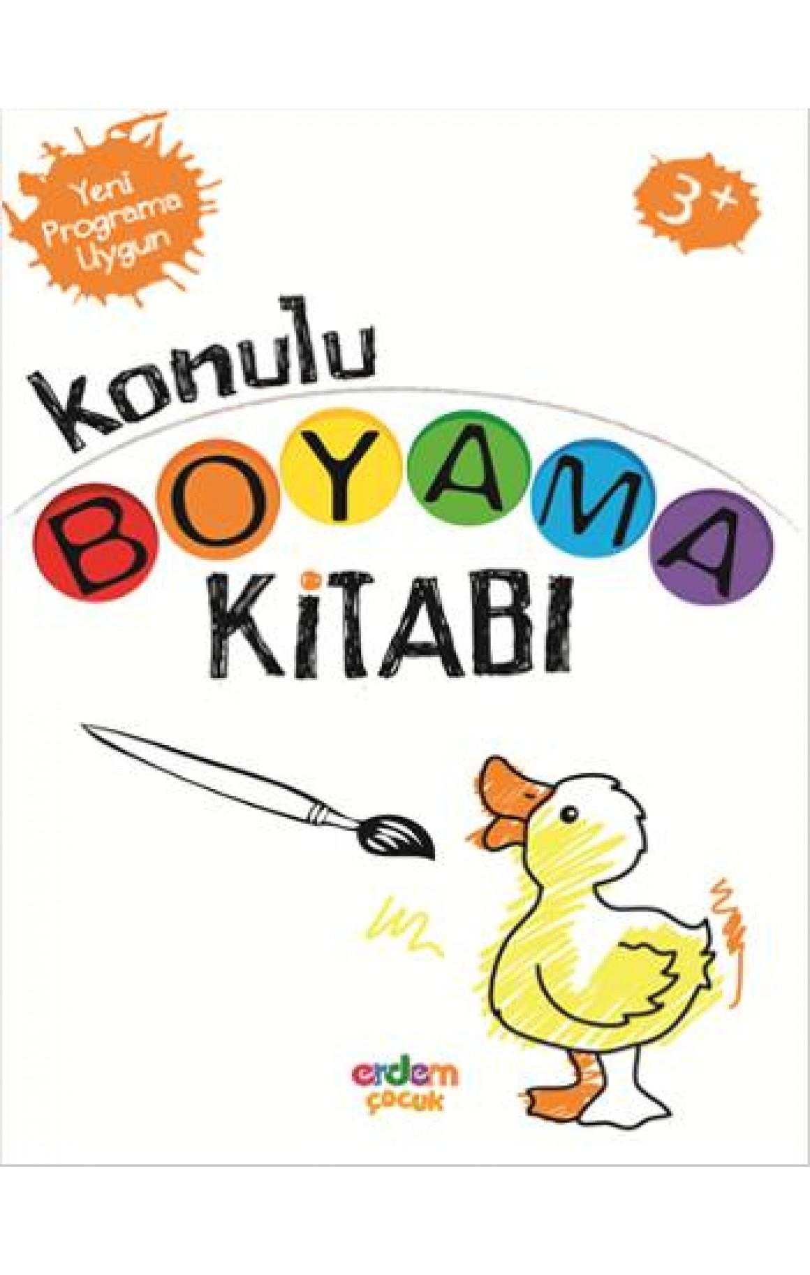 Konulu Boyama Kitabi 3 Yas