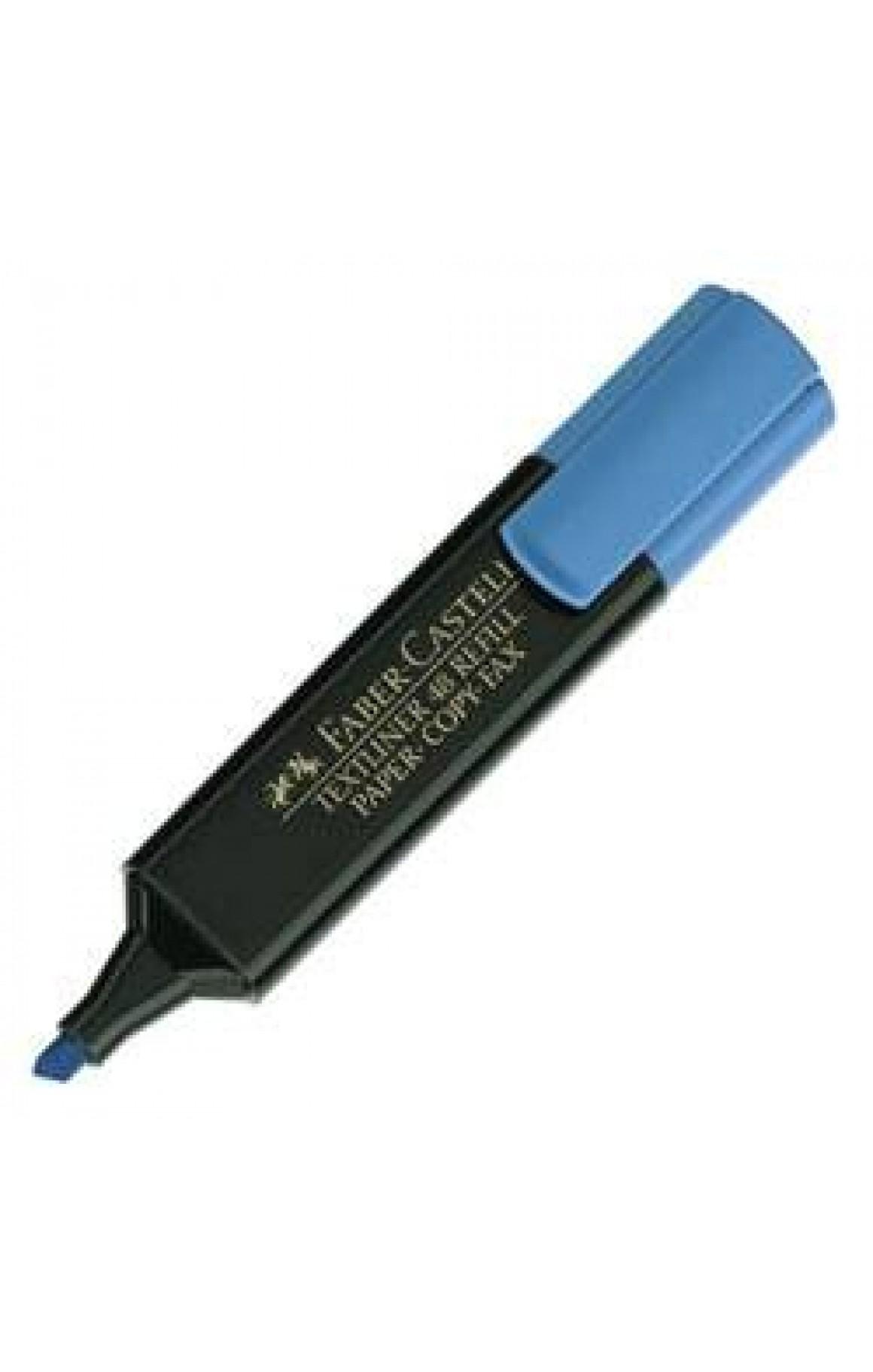 Faber-Castell Fosforlu Kalem Mavi