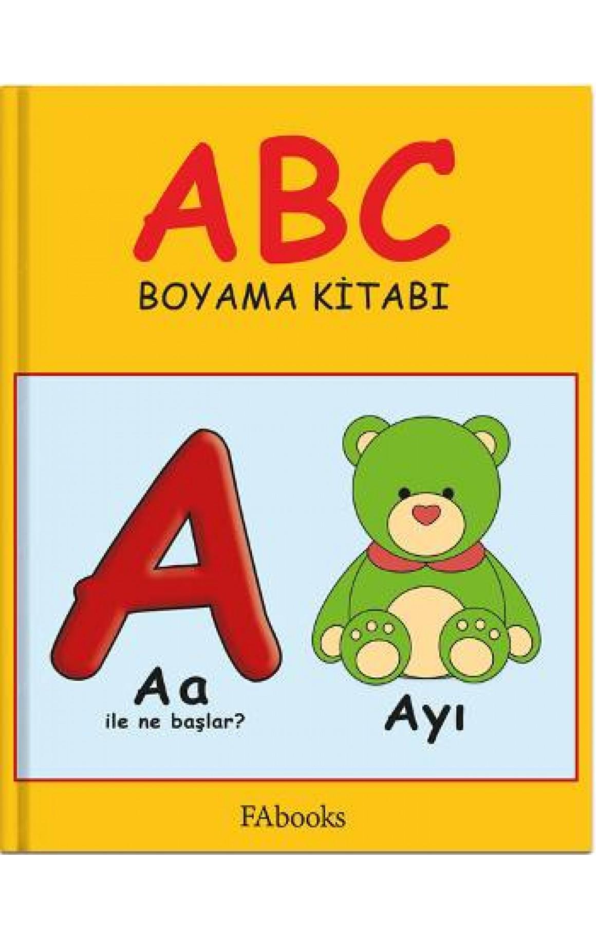 ABC Boyama Kitabı