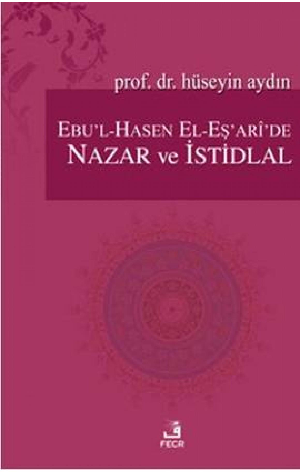 Ebul-Hasen El-Esaride Nazar ve Istidlal