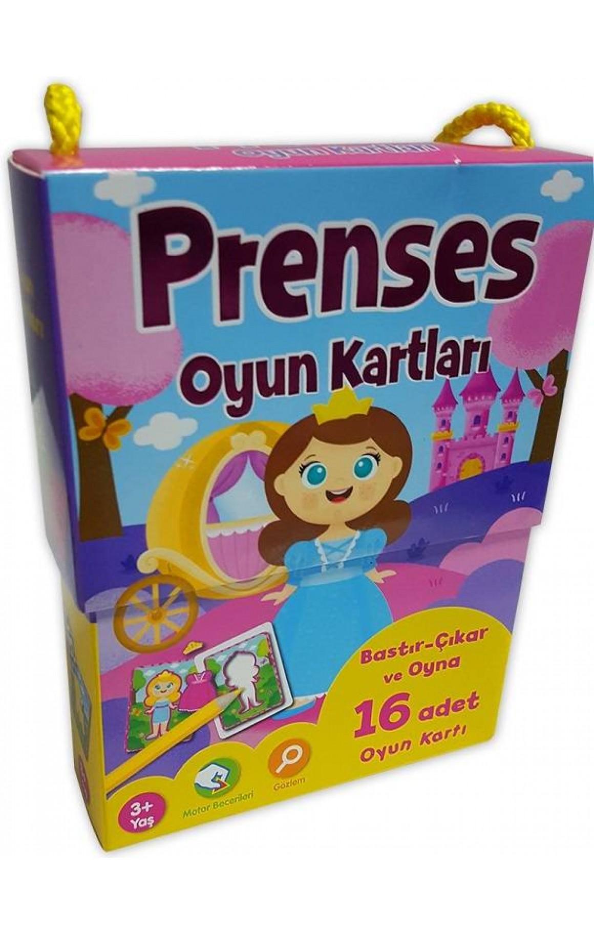 Oyun Kartları-Prenses