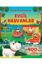 Evcil Hayvanlar-Renkli Çıkartmalarla