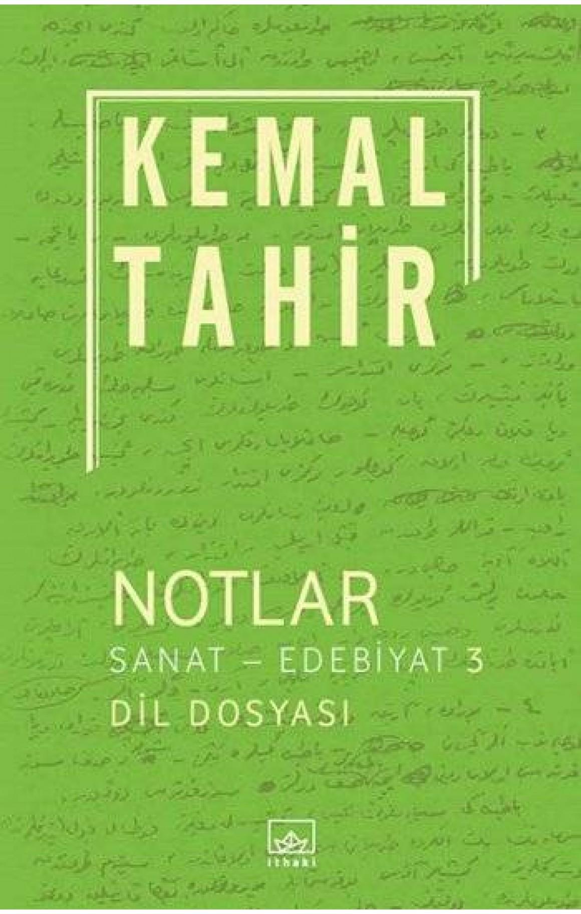 Notlar - Sanat - Edebiyat 3