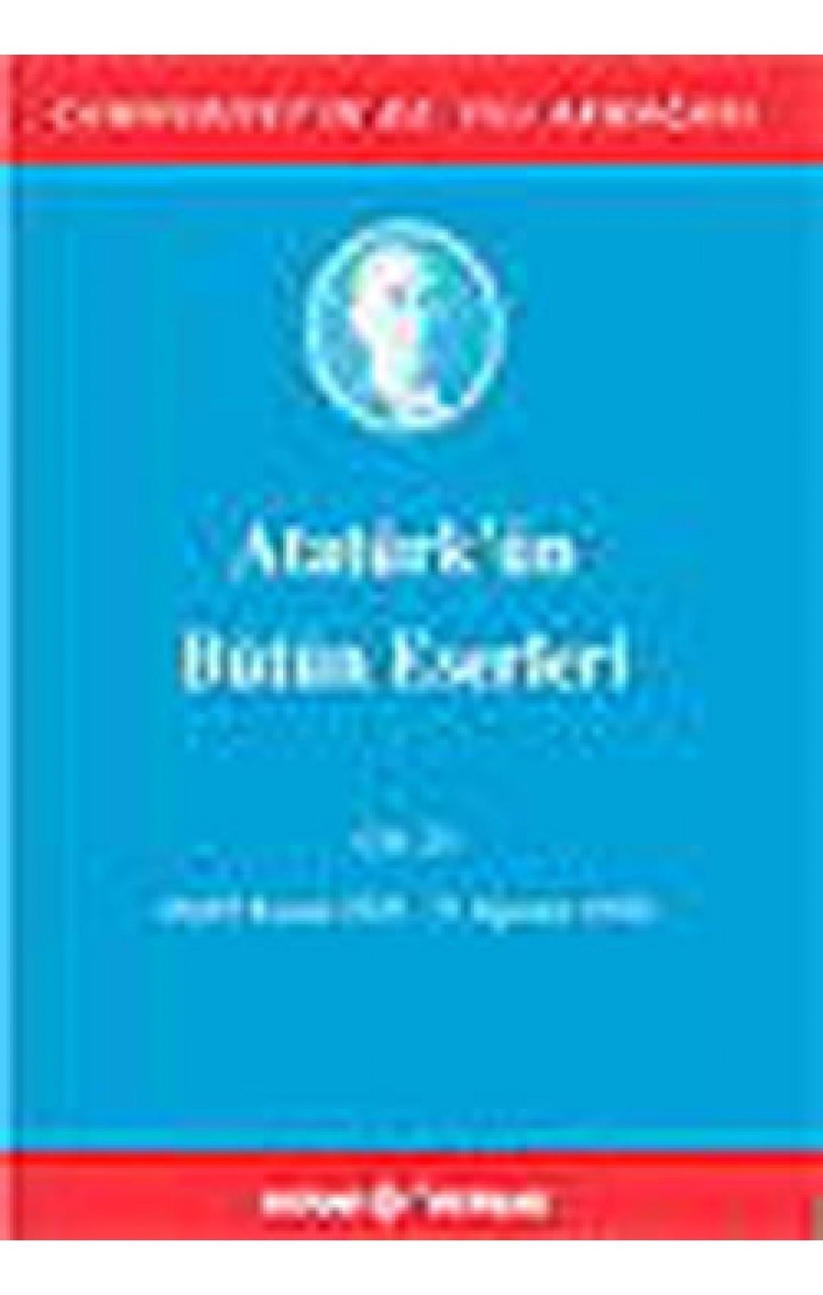 Atatürk'ün Bütün Eserleri Cilt 23