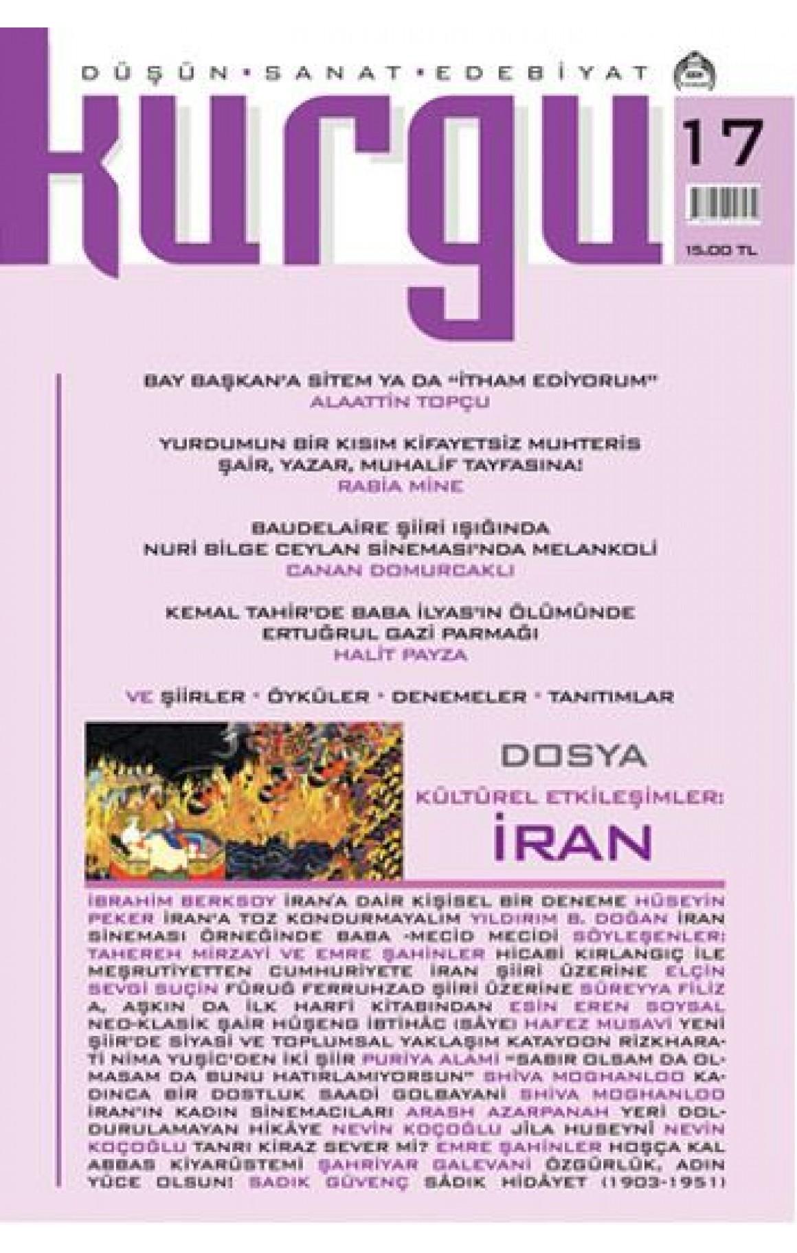 Kurgu Düşün - Sanat - Edebiyat Dergisi Sayı: 17