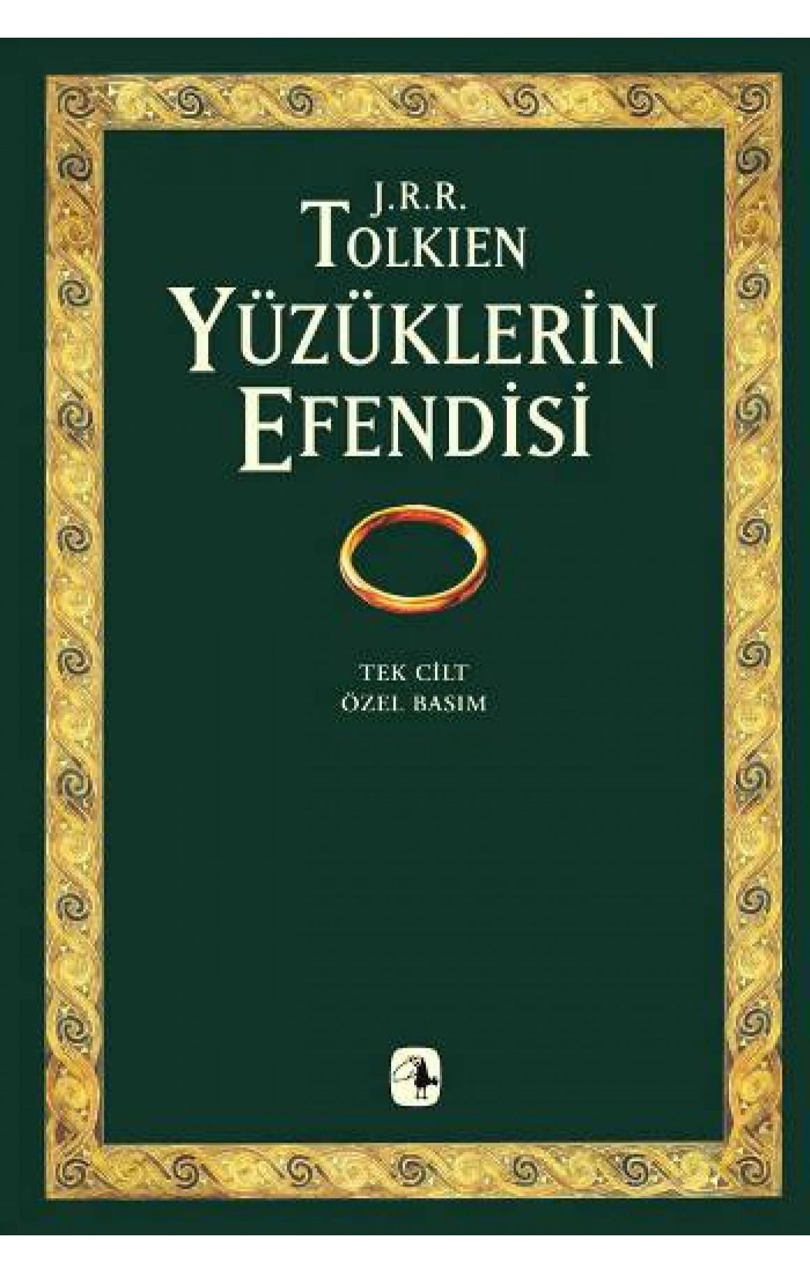 JRR Tolkien - Yüzüklerin Efendisi