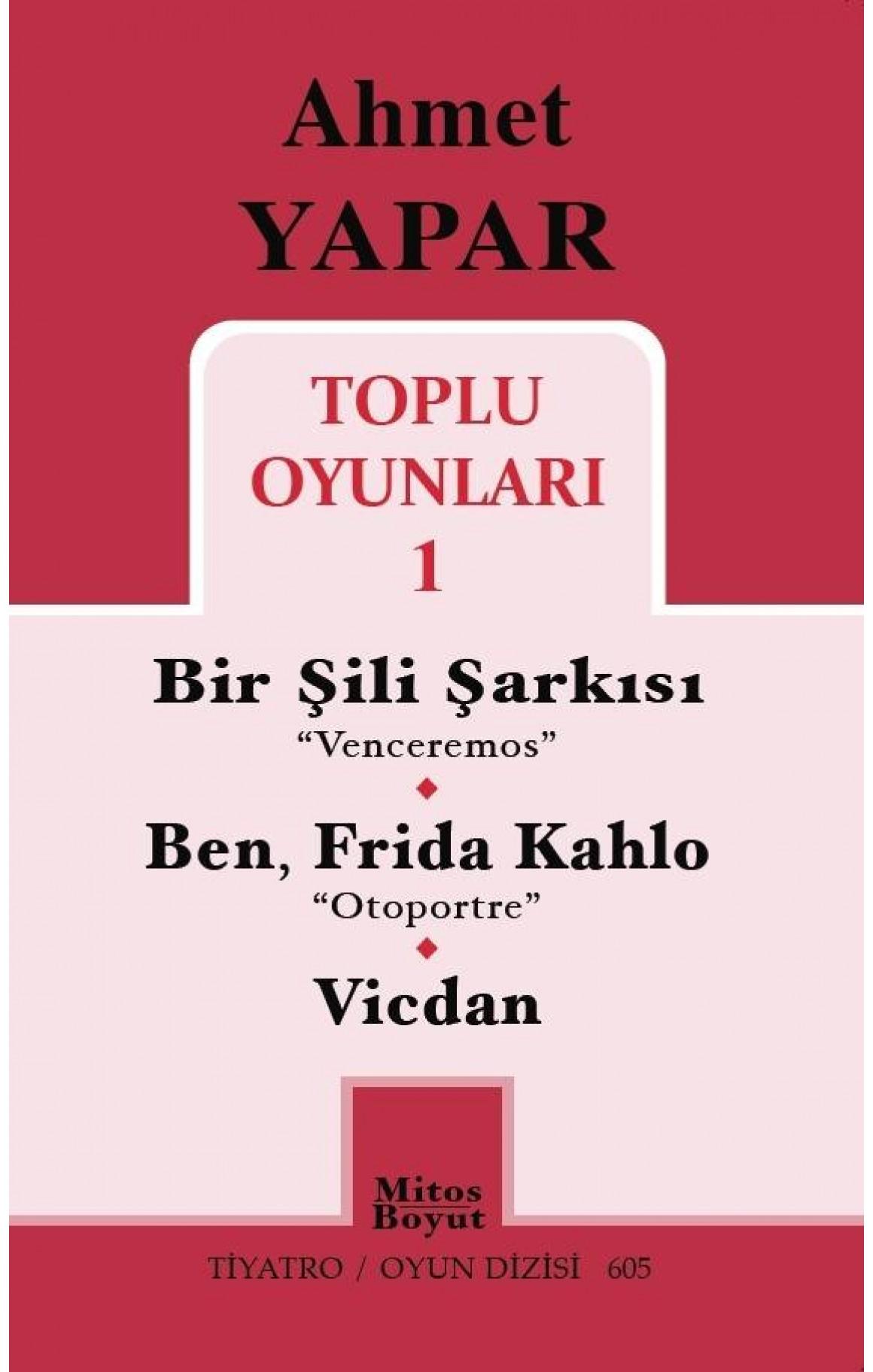 Ahmet Yapar Toplu Oyunları 1