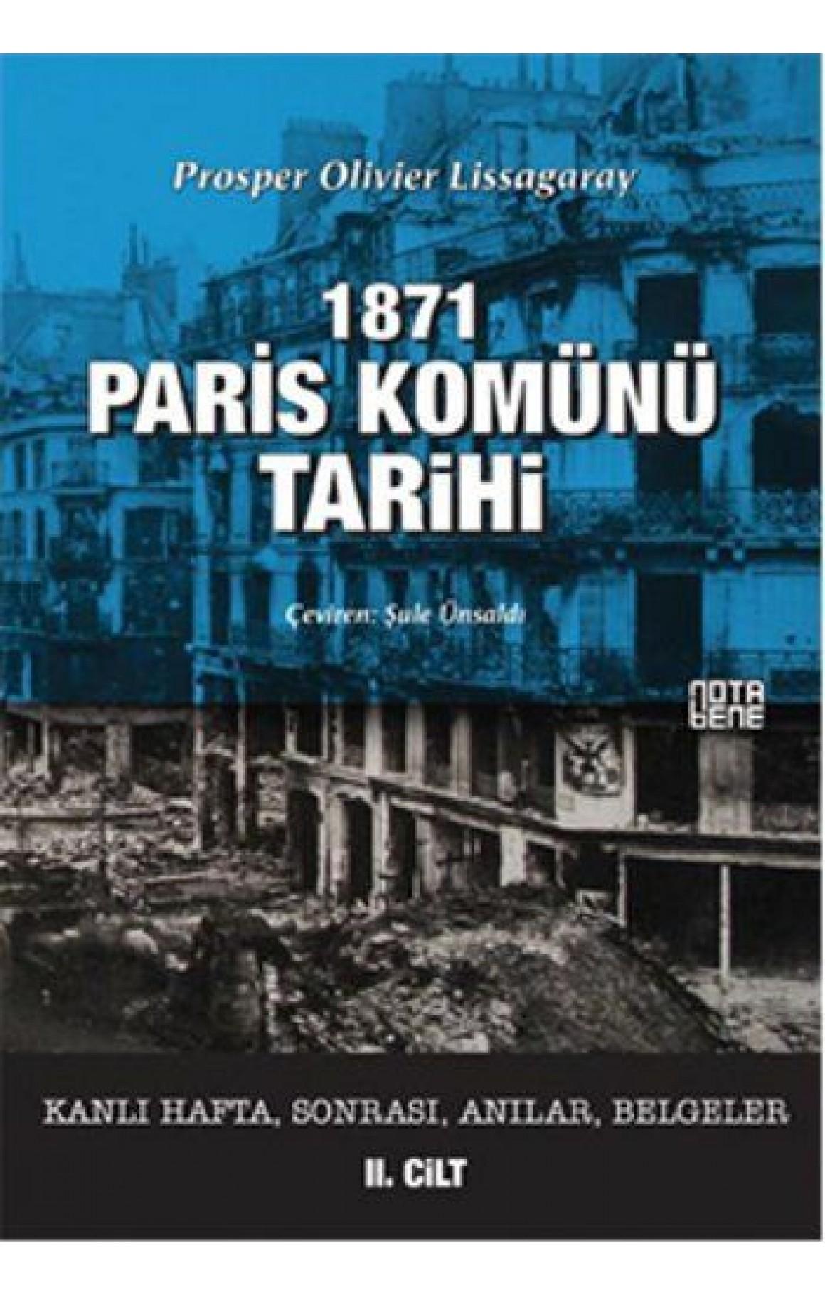 1871 Paris Komünü Tarihi 2. Cilt