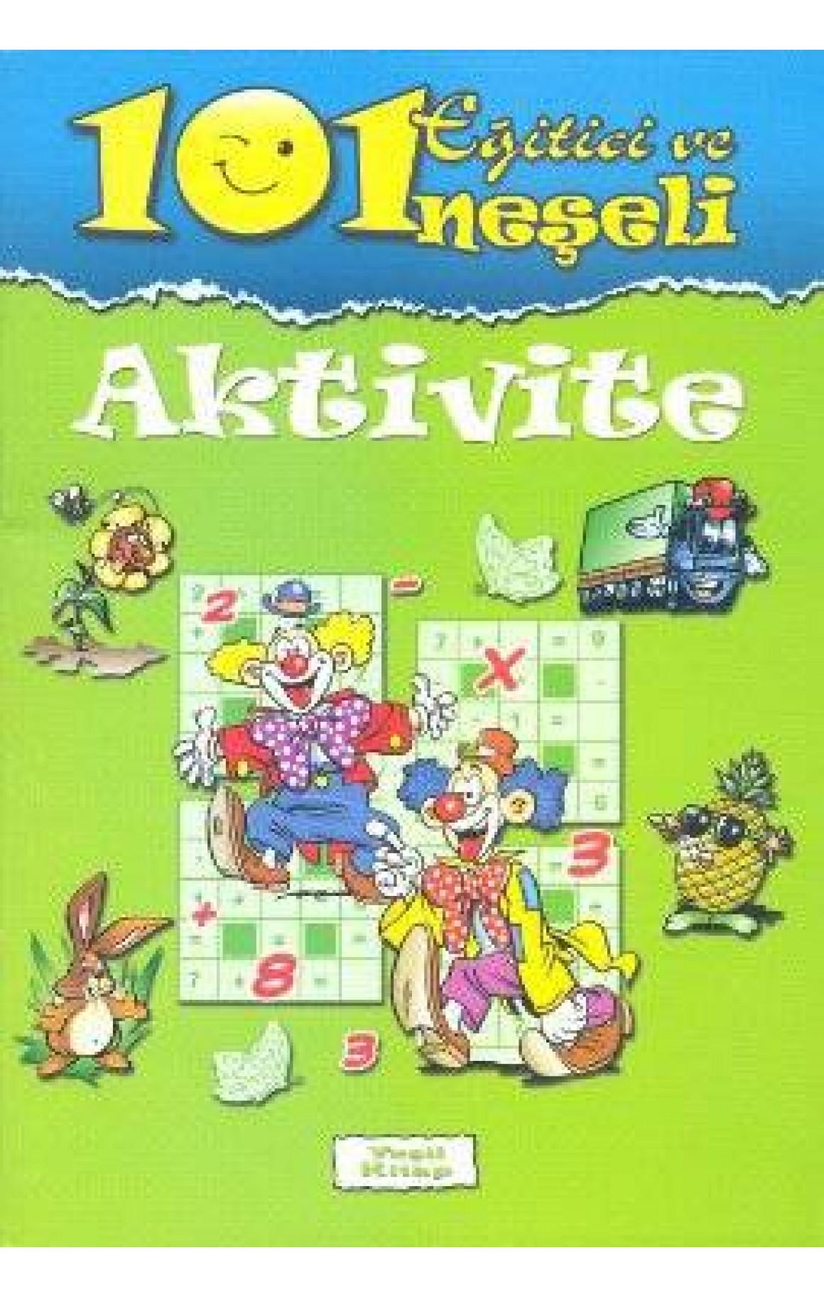 101 Eğitici ve Neşeli Aktivite: yeşil kitap