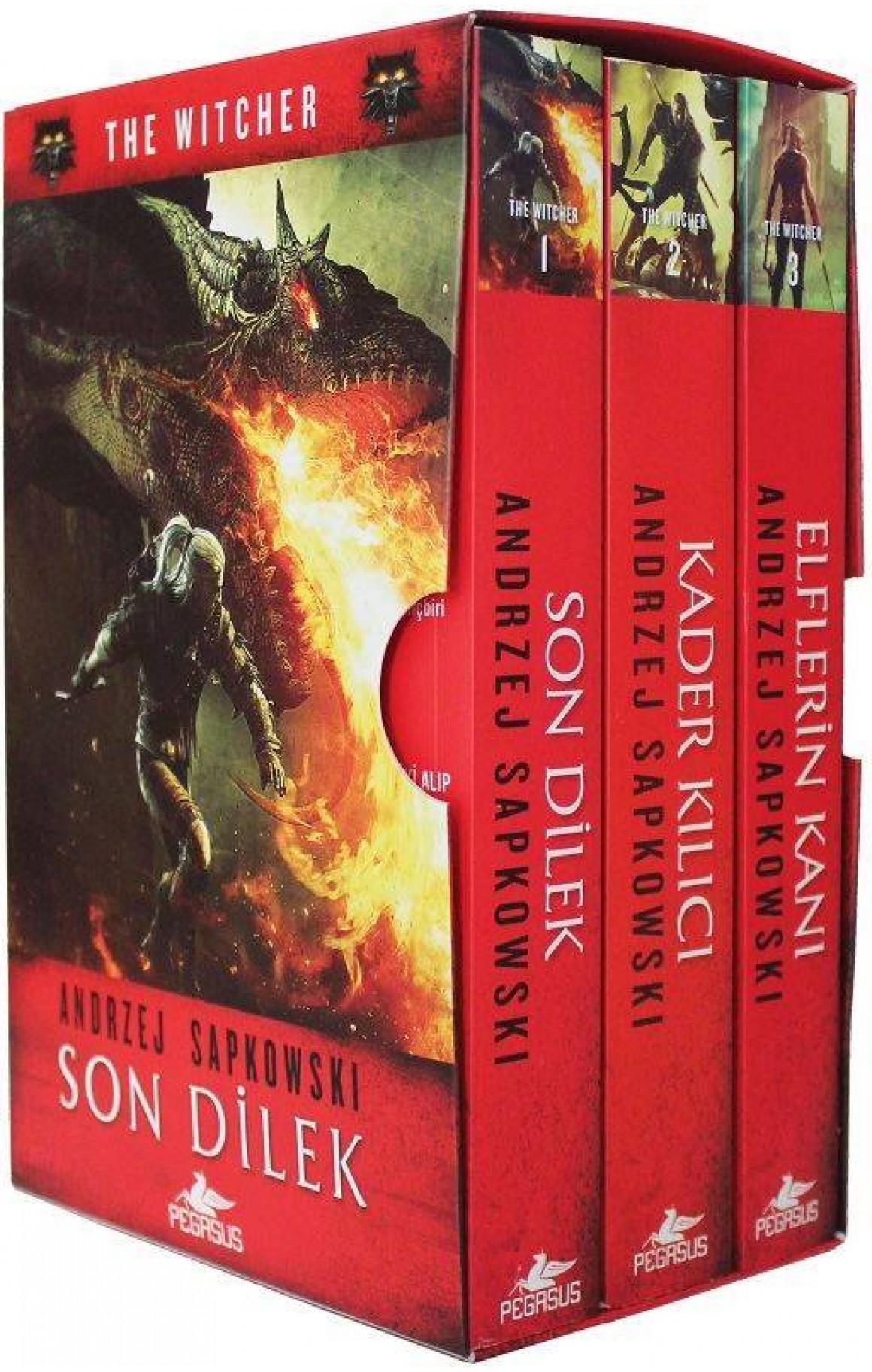 The Witcher Serisi-3 Kitap Takım
