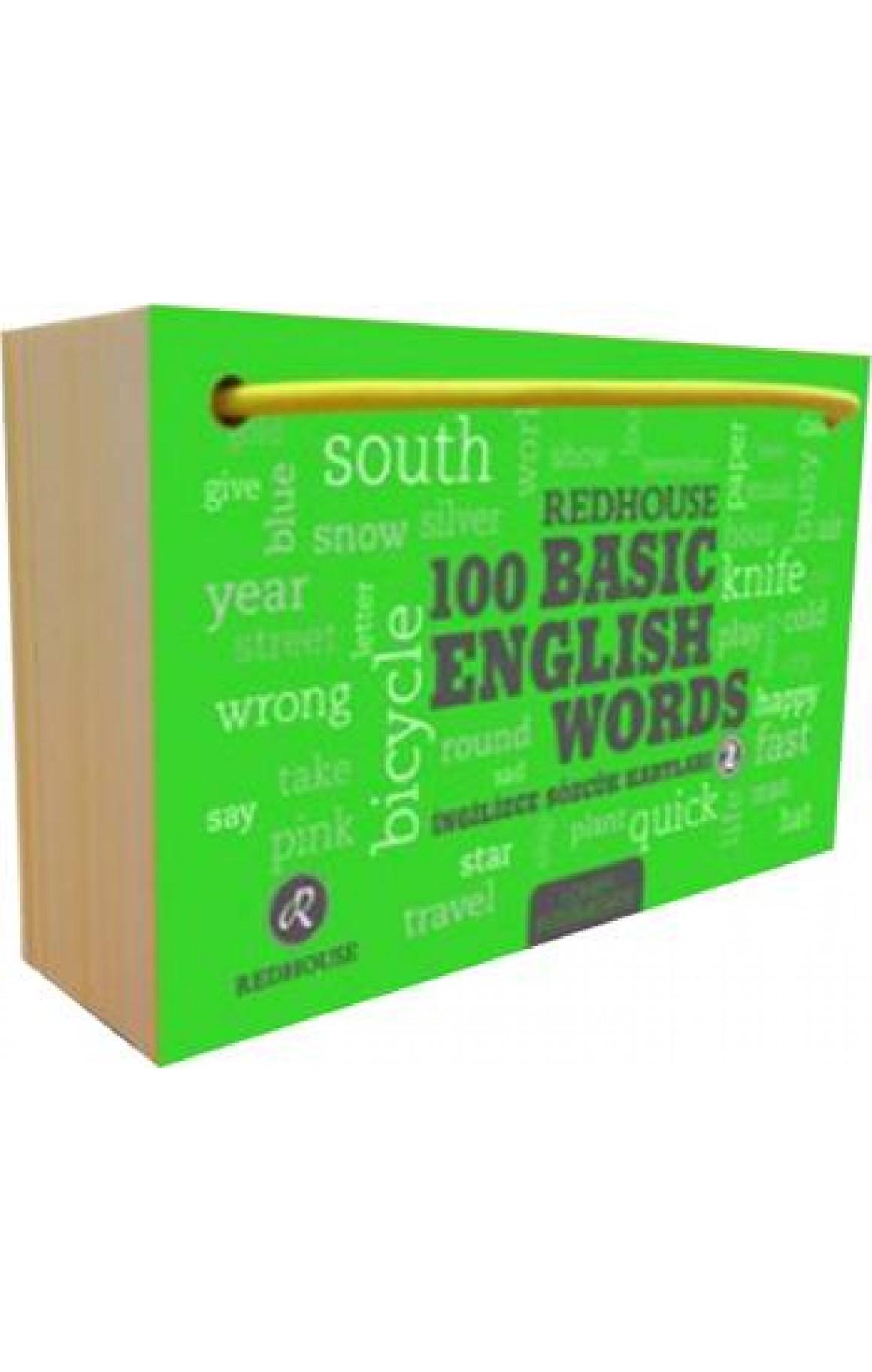 Redhouse 100 Basic English Words 2
