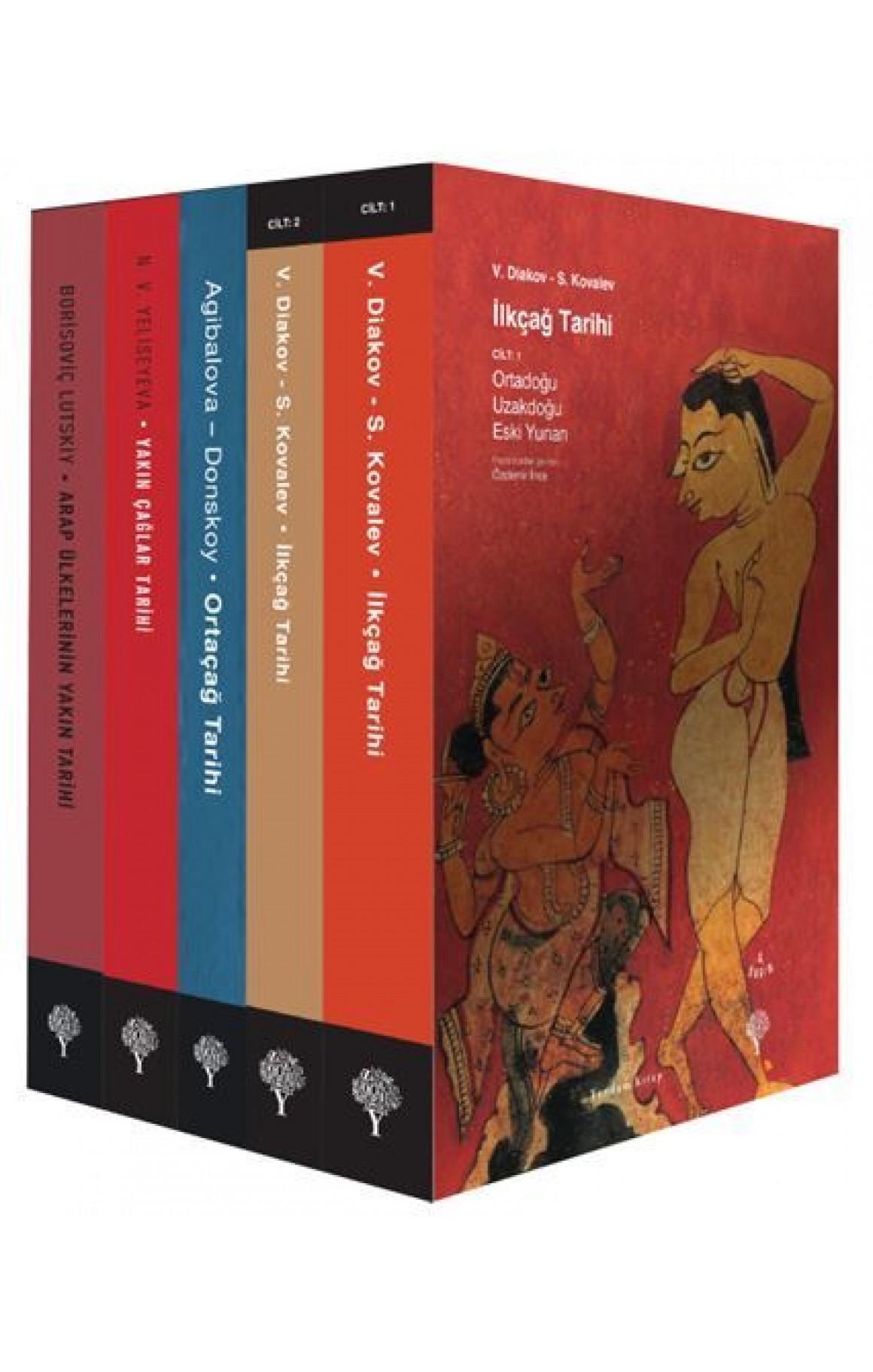 Tarih Seti-5 Kitap Takım
