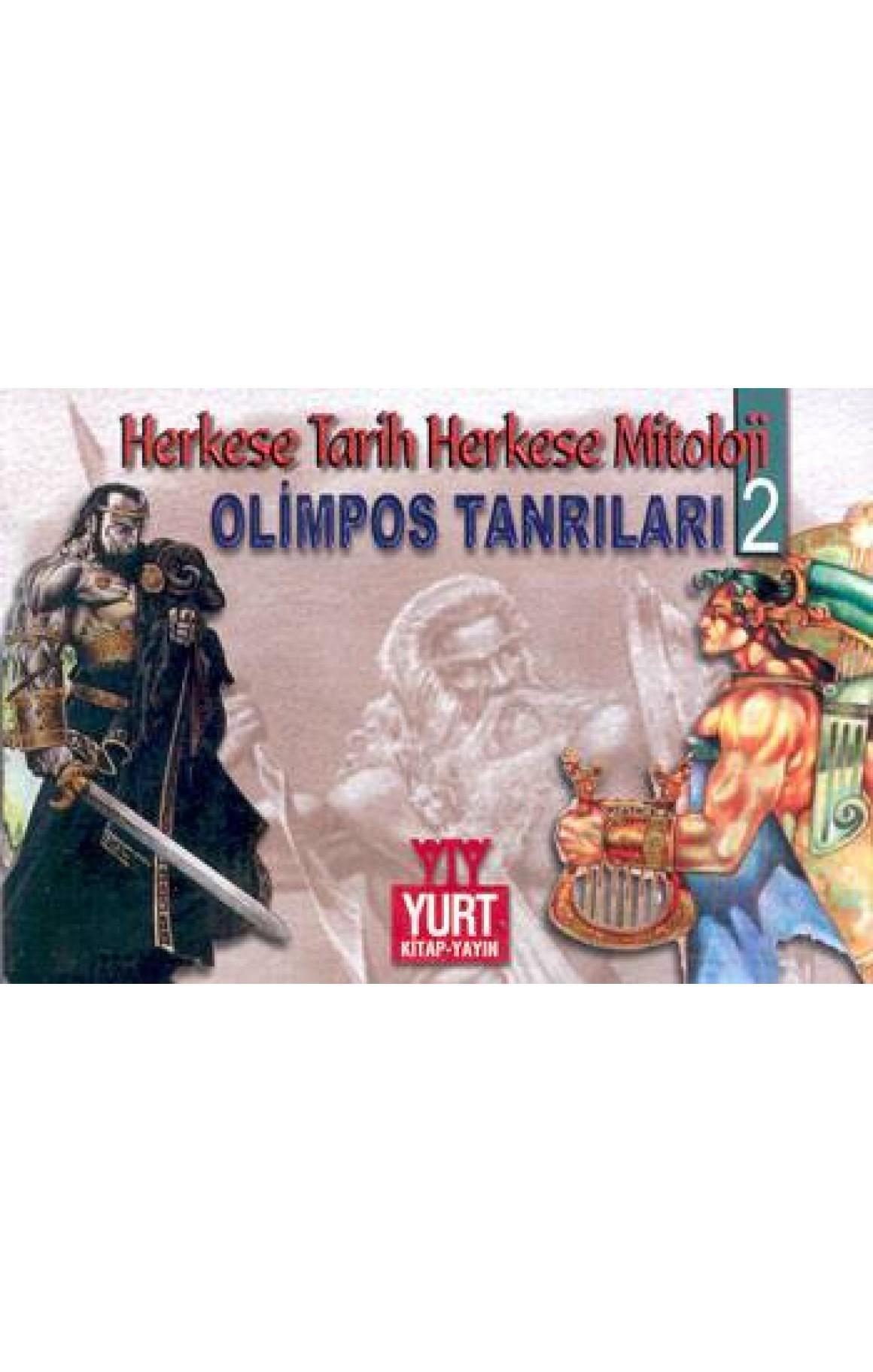 Tarihin ve Mitolojinin Masalları Olimpos Tanrıları-2 (13 Kitap Takım)