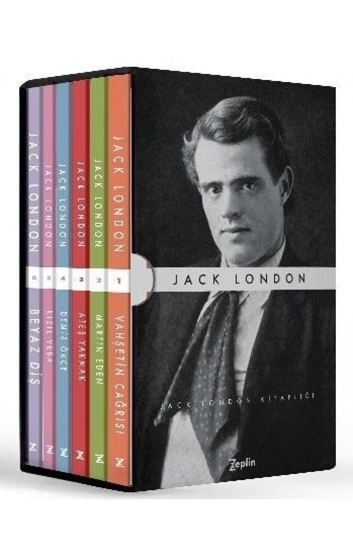 Jack London Seti-6 Kitap Takım Kutulu