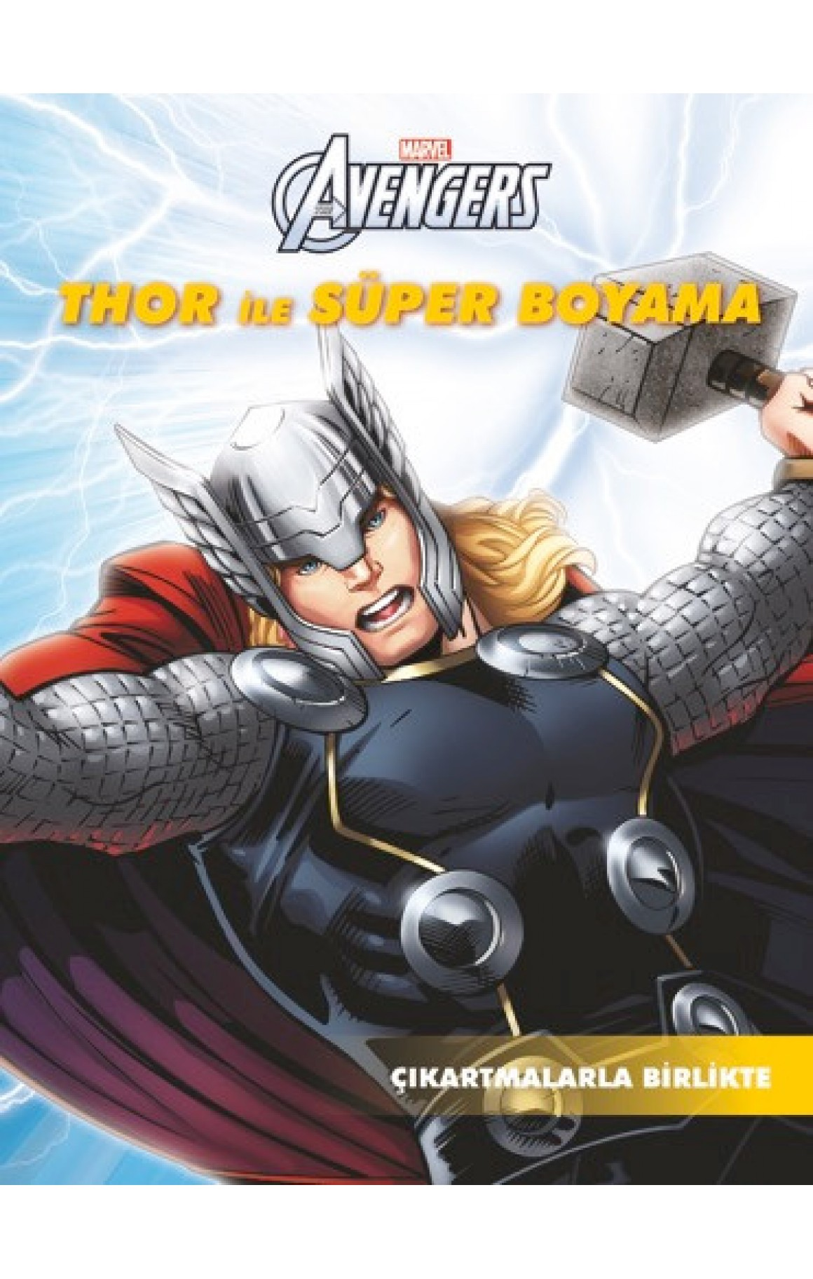 Marvel Thor ile Süper Boyama