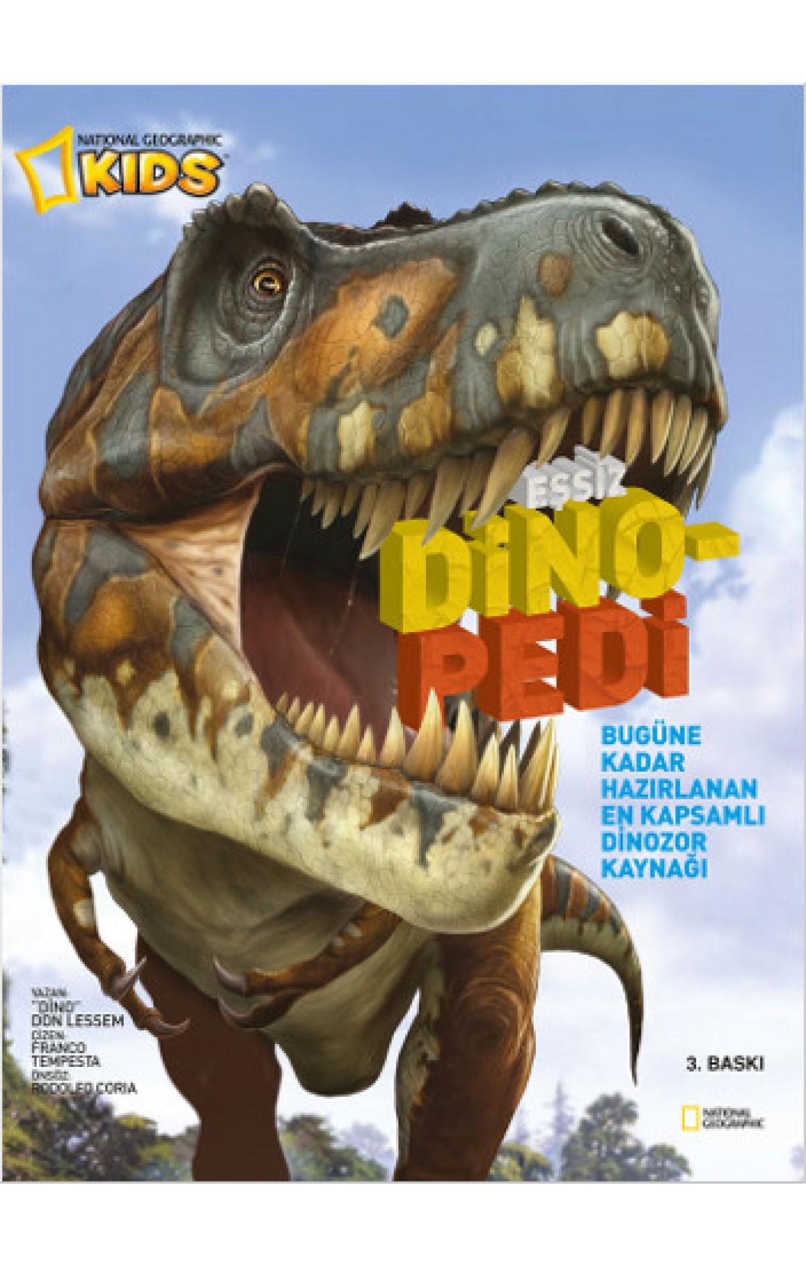 National Geographic Kids - Eşsiz Dinopedi