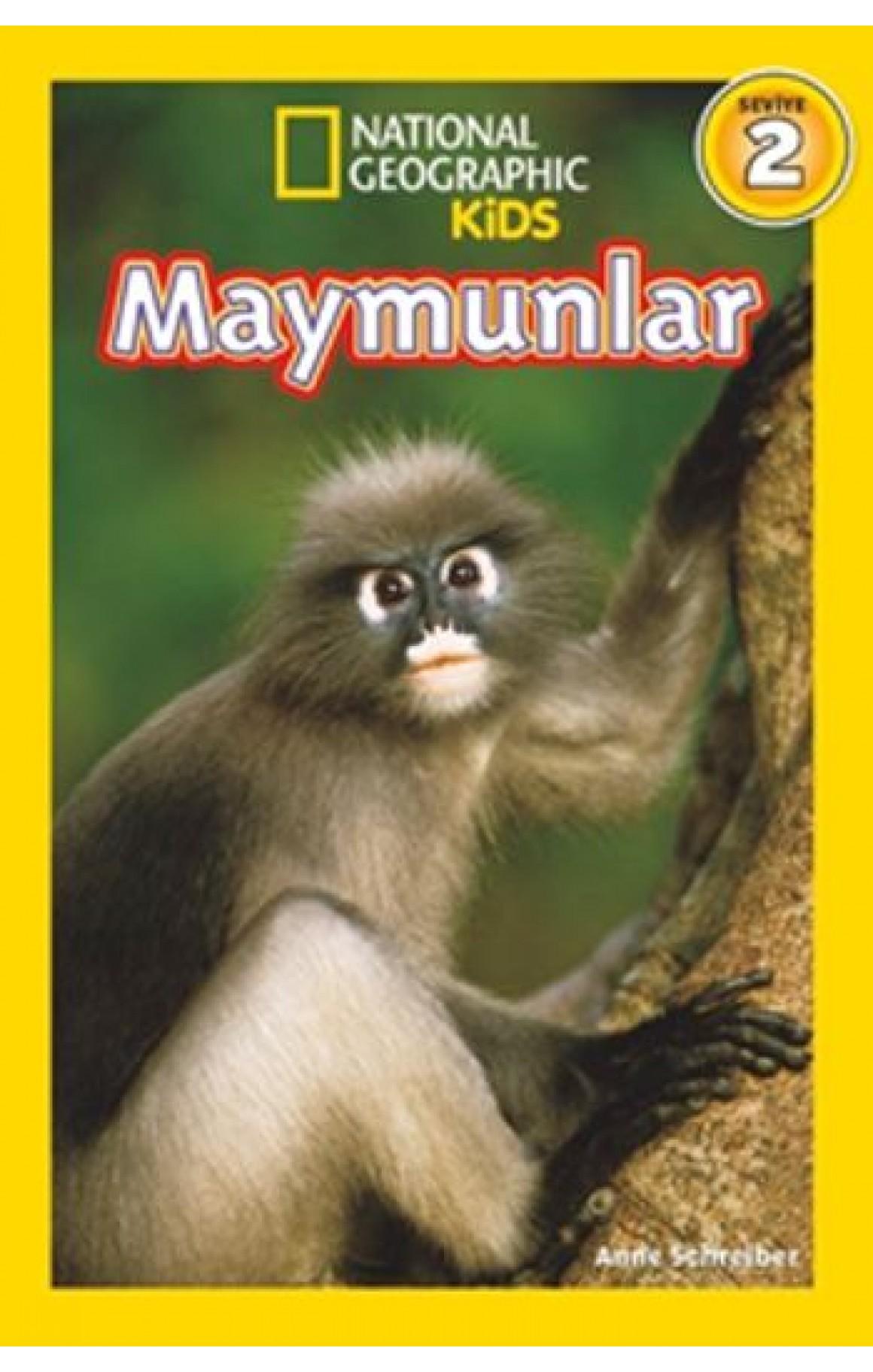 National Geographic Kids - Maymunlar
