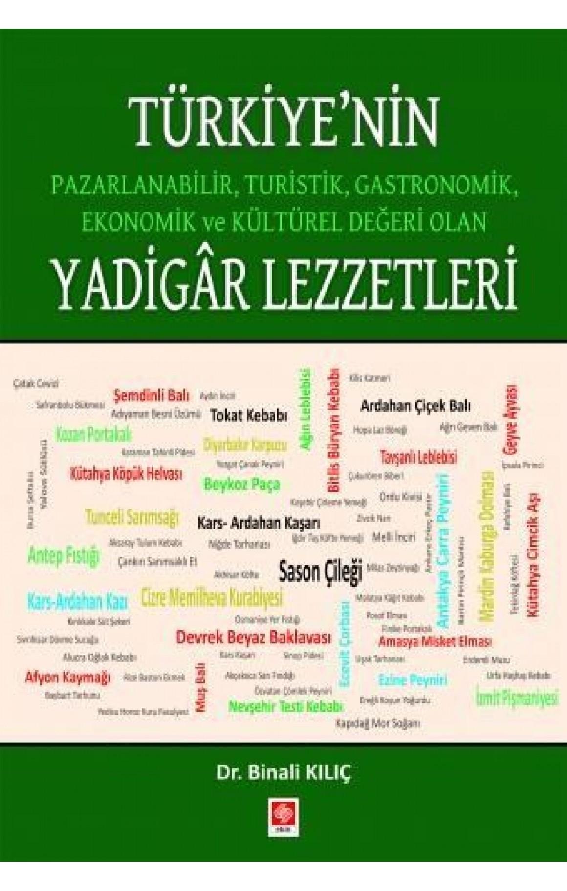 Türkiyenin Pazarlanabilir Turistik Gastronomik Ekonomik ve Kültürel Değeri Olan Yadigar Lezzetleri