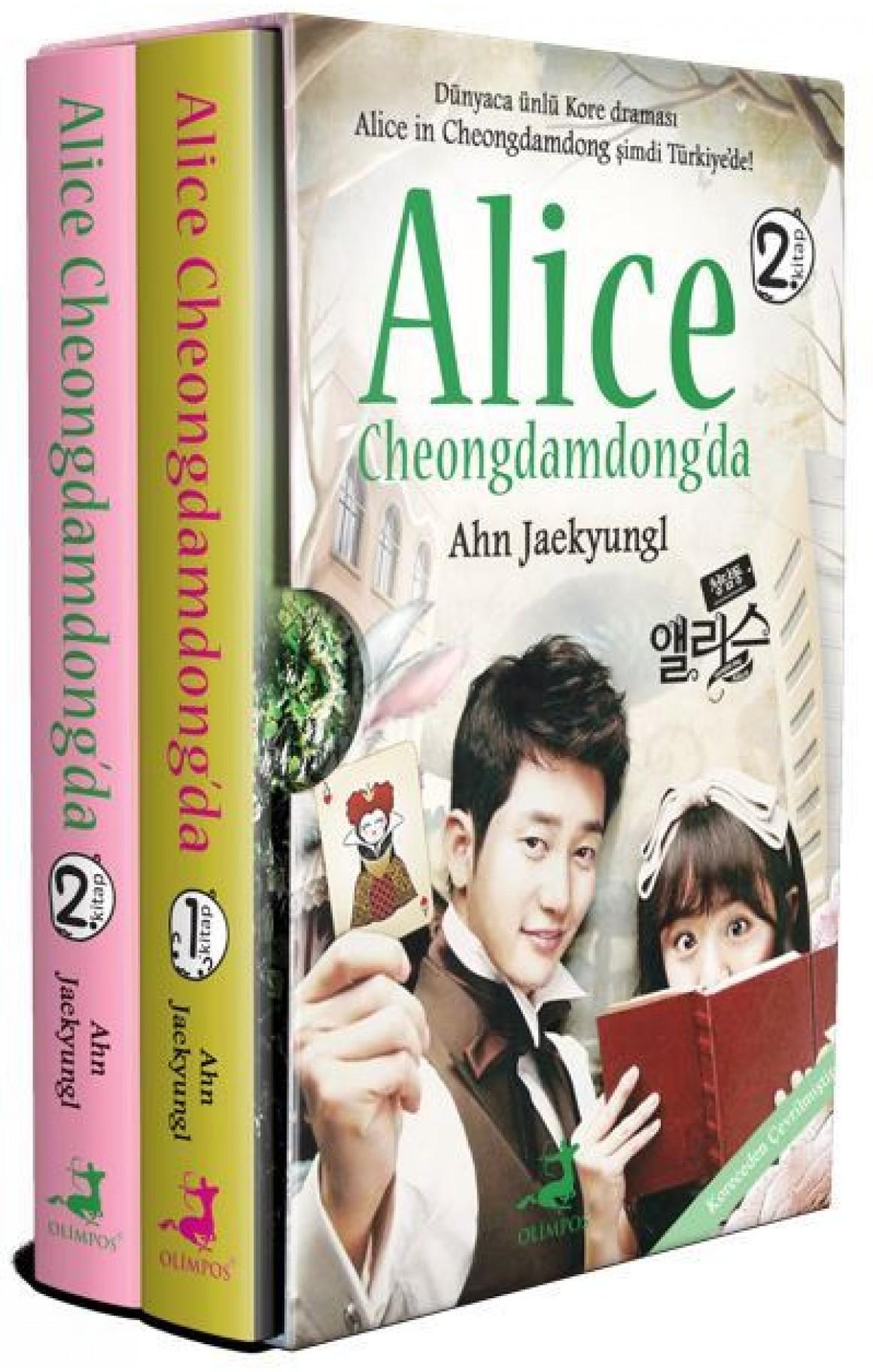 Alice Cheongdamdongda Seti-2 Kitap Takım Kutulu