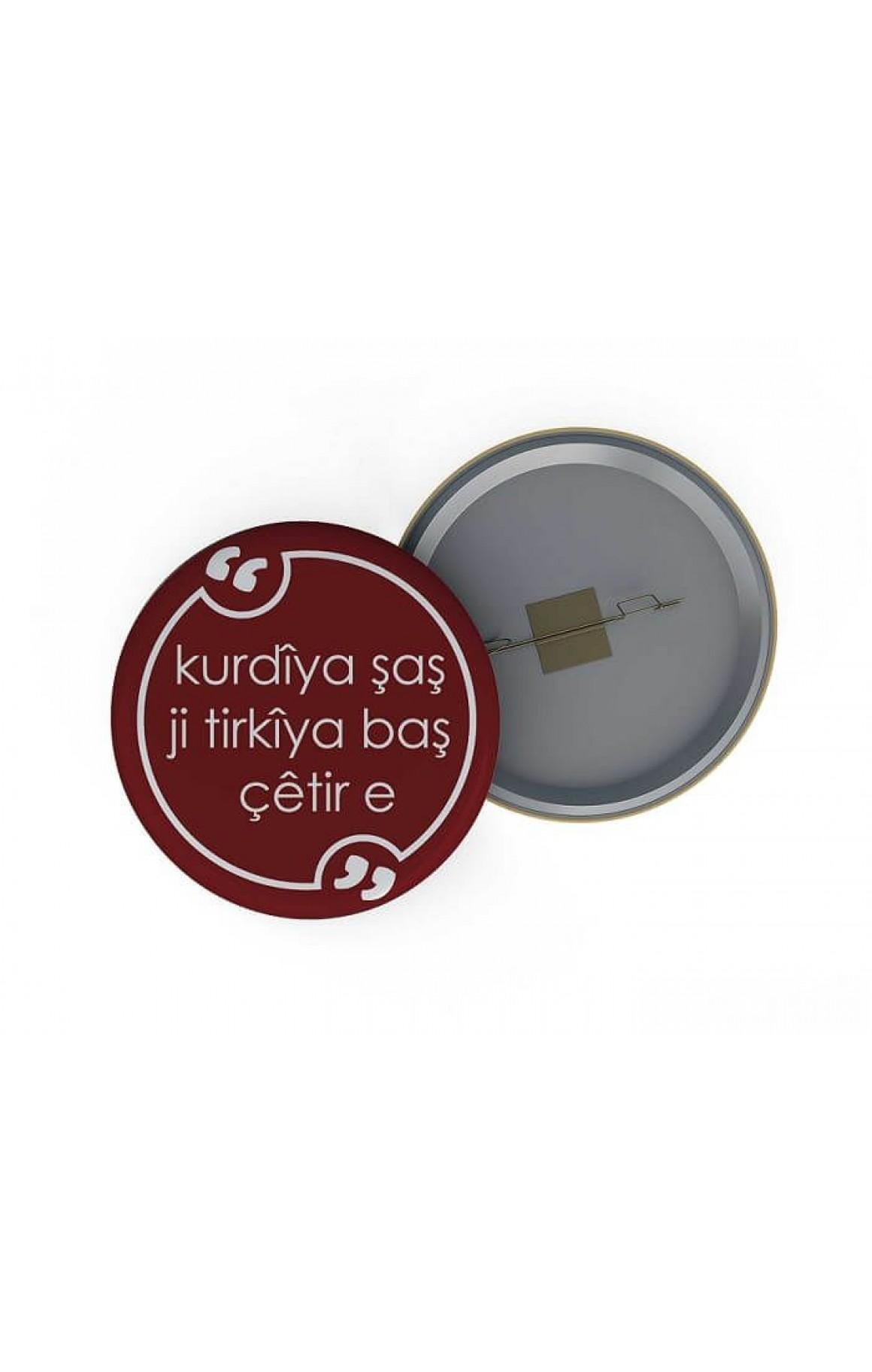 Rozet - kurdîya şaş Ji tirkîya baş çêtir e