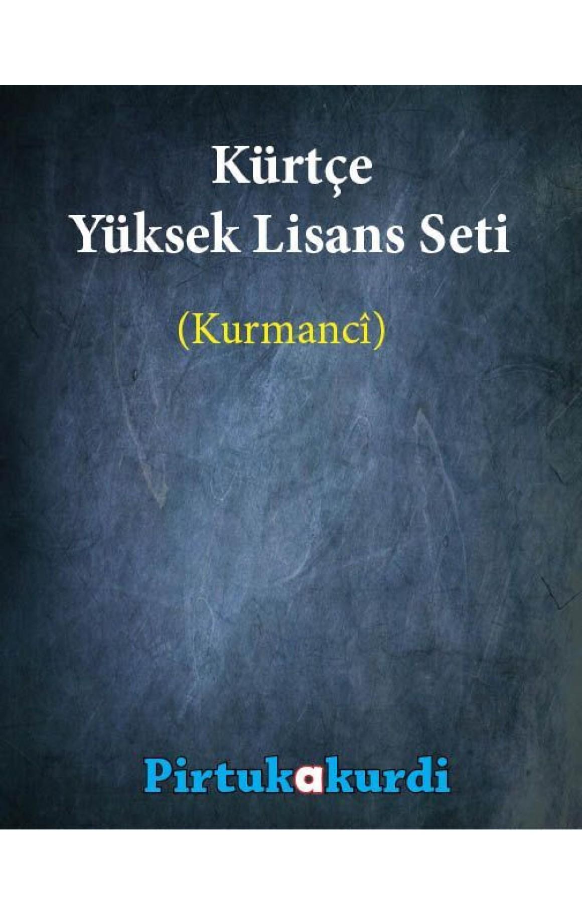 Kürtçe Yüksek Lisans Seti