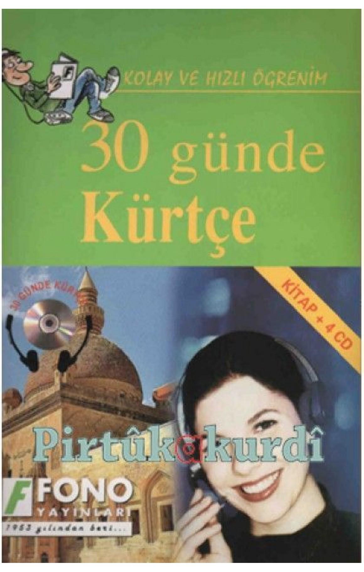 30 Günde Kürtçe - CD'li