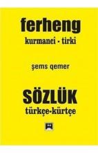 Ferheng Kurmanci-Tirki
