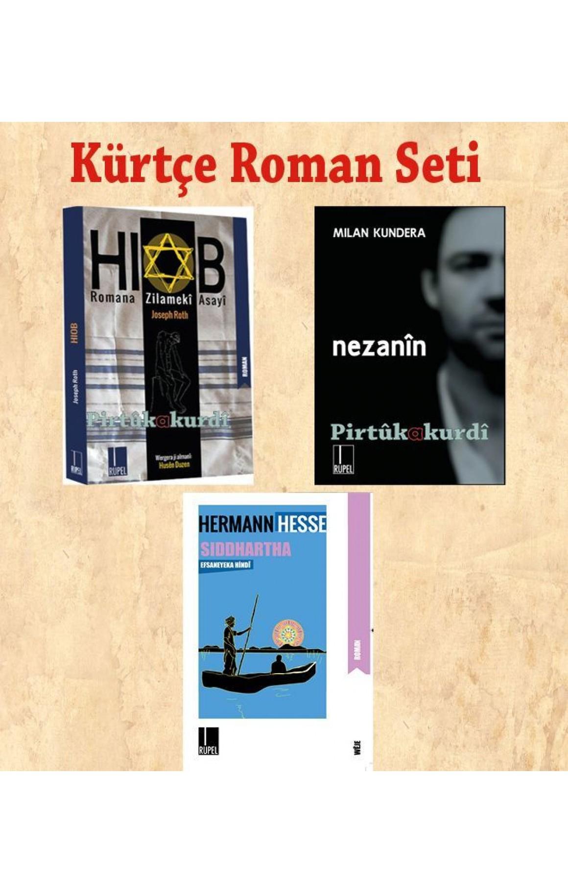 Kürtçe Roman Seti