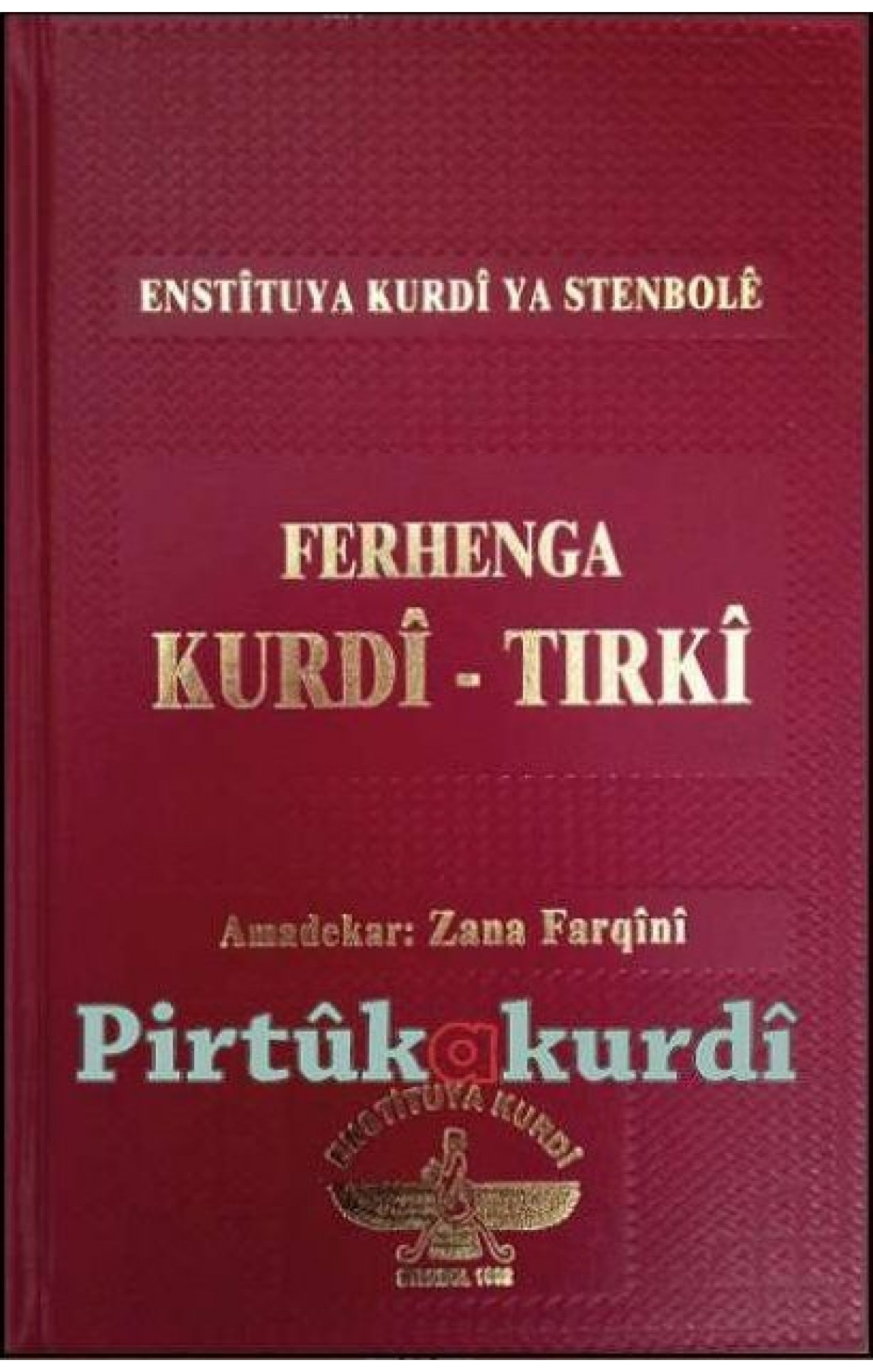 Ferhenga Kurdi Tirki - Zana Farqini