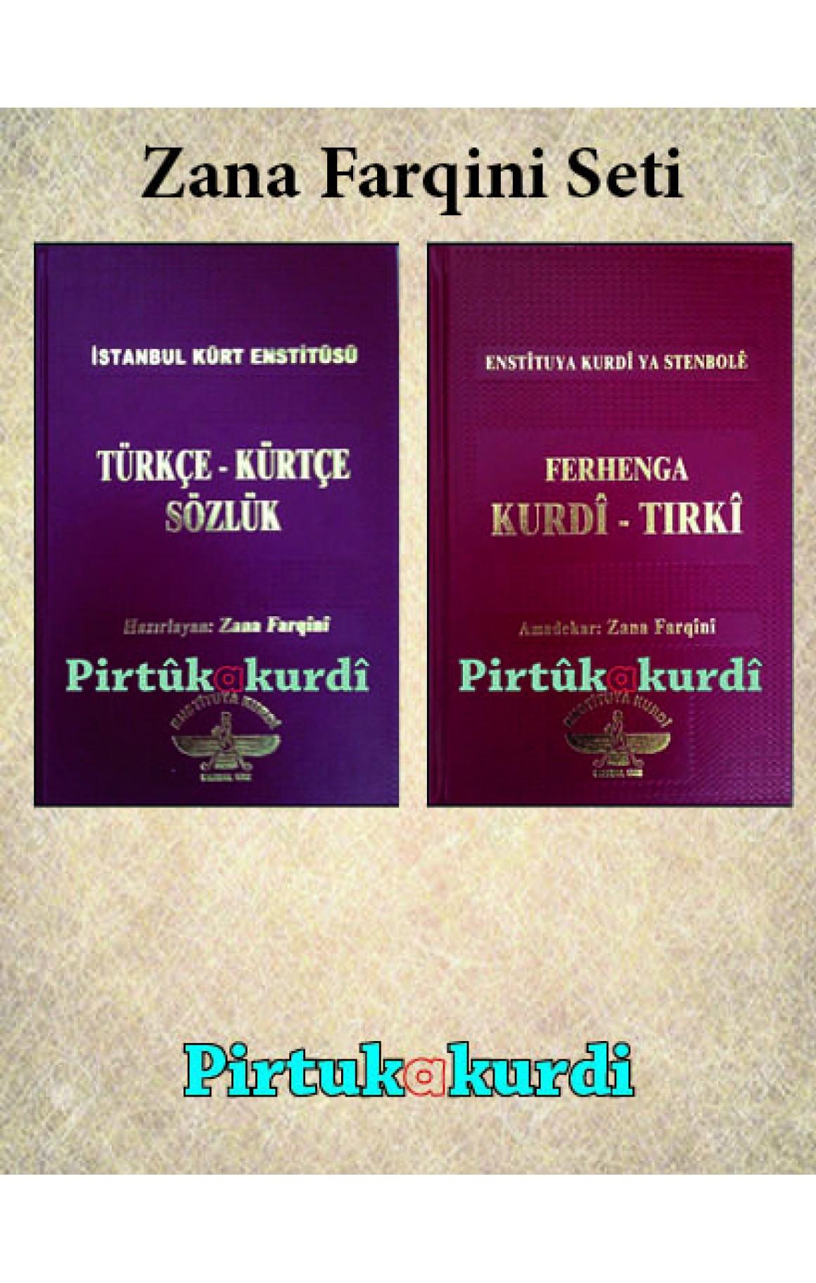 Zana Farqini Kürtçe Sözlük Seti