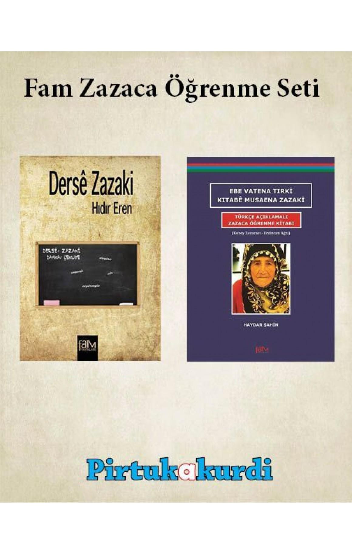 Fam Zazaca Öğrenme Seti