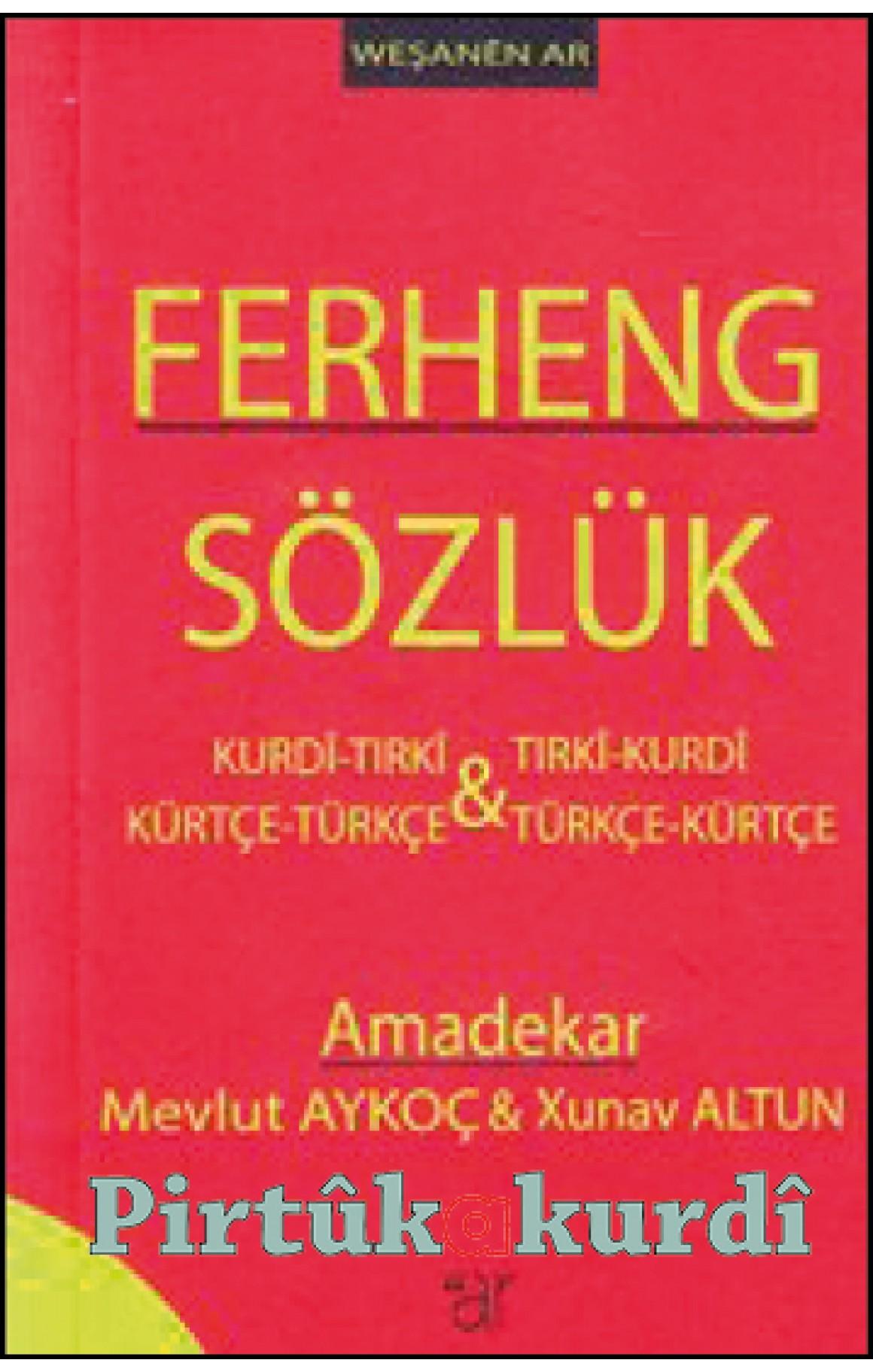 Ferheng - Sözlük Weş. AR