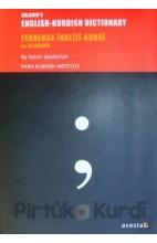 Saladin´s English - Kurdish Dictionary Ferhenga Kurdi İngilizi