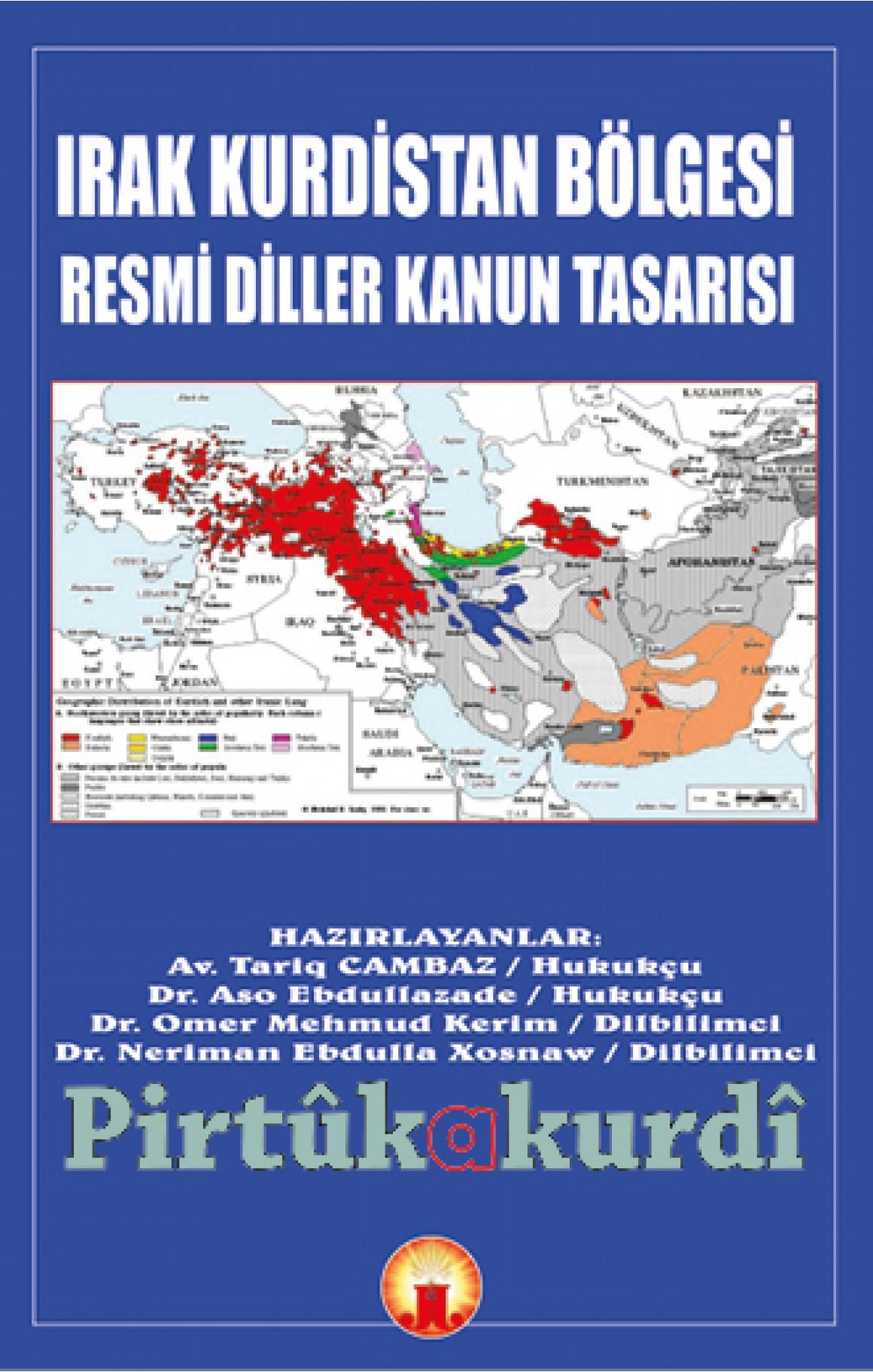 Irak Kurdistan Bölgesi Resmi Diller Kanun Tasarısı