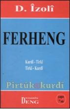 Ferheng Kurdî Tirkî D. İzoli