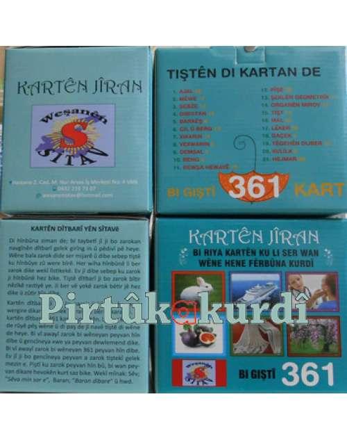 Kürtçe Görsel Kartlar Kartên Dîtbarî  (361 kart)