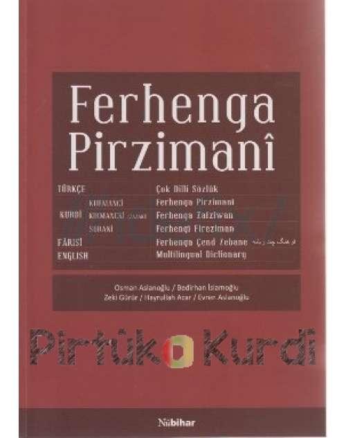 Ferhenga Pirzimanî - Çok Dilli Sözlük  (Defolu)